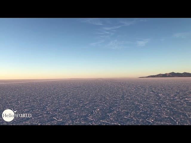 Abenteuer 100 Tage Südamerika: Sonnenaufgang in der Salar Uyuni