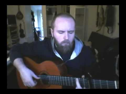 Performance of an arrangement of a song from Tales from Earthsea on classical guitar.