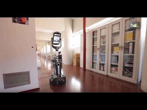 Desarrollan un simulador 3D para probar robots olfativos
