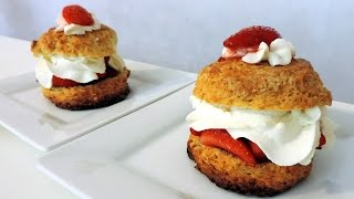 Strawberry Shortcakes (Shortcakes à la Fraise)