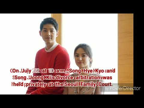 Song Joong Ki And Song Hye Kyo Become Legally Divorced