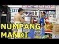NUMPANG MANDI DI ALFAMART - Prank Indonesia - Brandon Kent