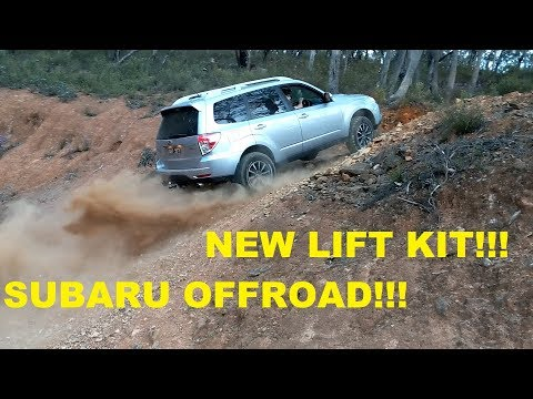 Taking my lifted SH Subaru Forester off road (BFG | Youtube