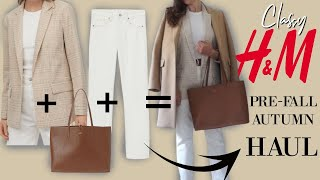 H&M Pre Fall Autumn Try On | Classy Outfits For Women