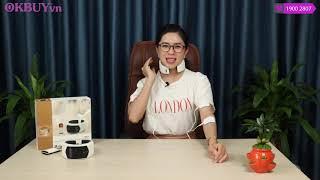 Video review máy massage cổ trị liệu Hàn Quốc pin sạc Hàn Quốc Puli PL-758
