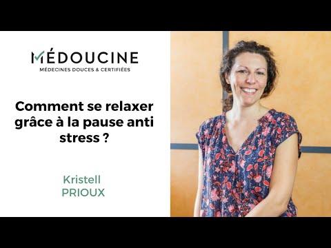 La pause anti stress - Par Kristell Prioux