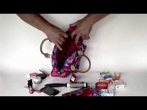 OILILY Schultertasche Tasche Bag ESS.N. HANDBAG blue blau pink