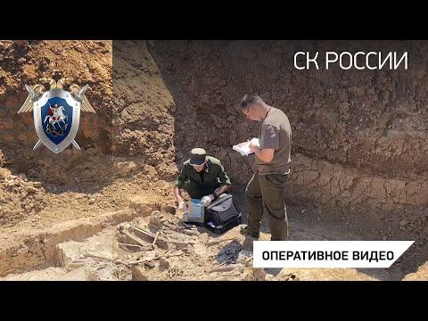 В Ростовской области следователи приступили к работе на месте захоронения мирных граждан