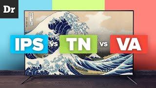 ЭКРАНЫ: IPS vs TN vs VA. В ЧЕМ РАЗНИЦА?