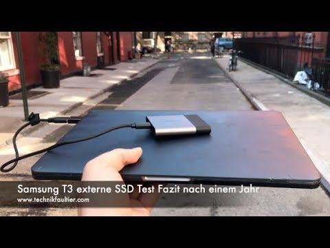 Samsung T3 externe SSD Test Fazit nach einem Jahr