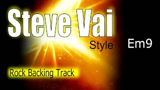 Rock Ballad Guitar Backing Track Steve Vai Style Em By VitoAstone