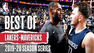 Relive Mavericks and Lakers EPIC Season Series!