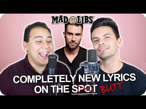 "Maroon 5 - ""Memories"" MadLibs Cover (LIVE ONE-TAKE)"