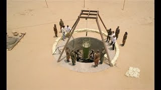 一群士兵在沙漠挖洞,15天后,震撼世界,美国都怕了!