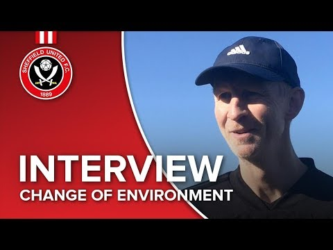 Alan Knill on a change of environment