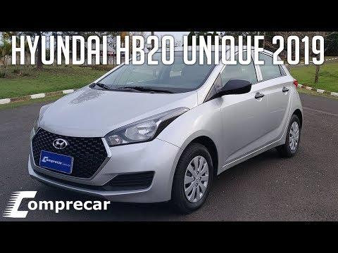 Avaliação: Hyundai HB20 Unique 2019