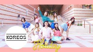 [Koreos] Girls' Generation 소녀시대 (SNSD) - Holiday Dance Cover 댄스 커버 영상
