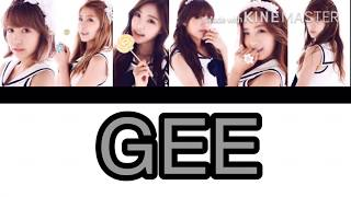 Your 6 member girl group ~Gee {SNSD}~