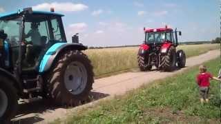preview picture of video 'zetor vs landini'