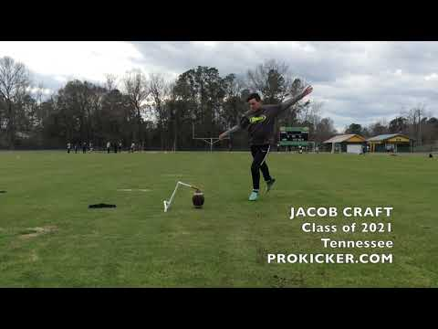 Jacob Craft, Prokicker.com Kicker, Class of 2021
