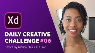 Adobe XD Daily Creative Challenge #06