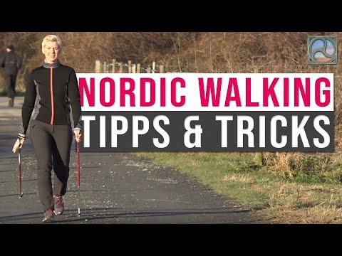 Laufsport - Nordic-Walking mit Corinna Werner