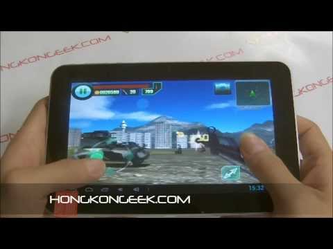 Ainol novo7 rainbow android tablet - unboxing and test