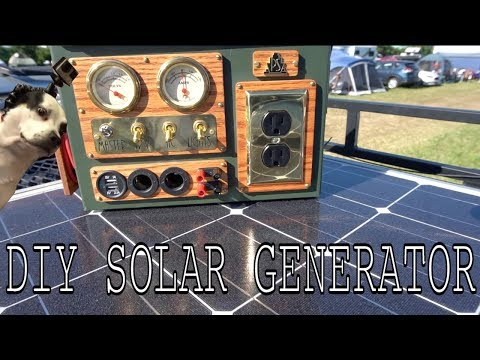 Solar powered Ammo box thing