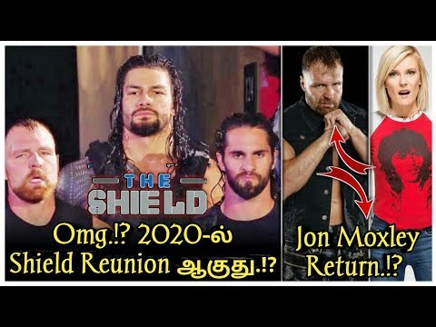 Omg.!? Jon Moxley Return to Wwe.? 2020-ல் Shelda Return ஆகும்/World Wrestling Tamil