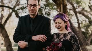 A Gothic Fairy Tale Wedding