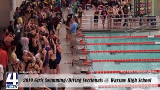 Rochester Girls Swimming Sectionals