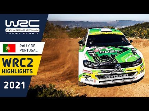 WRC2のDay1ハイライト動画 WRC 2021 第4戦ラリー・ポルトガル