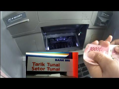 CARA SETOR TUNAI Di ATM Bank BRI/BCA