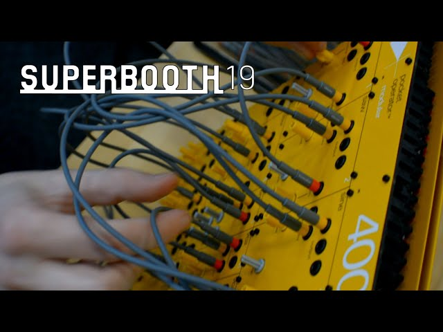 Teenage Engineering 400 Modular (Superbooth19)