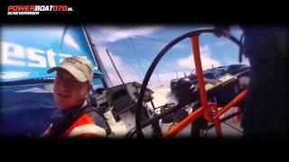 Volvo Ocean Race in Scheveningen. Boek ook een powerboat070 ervaring, RIB Powerboat Trip