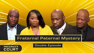 Fraternal Paternal Mystery: Twins Have 4 Possible Fathers (Double Episode)   Paternity Court