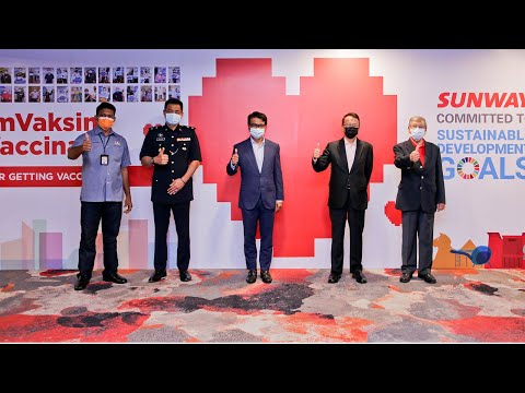 Sunway and PKD Launch Public Vaccination at Sunway Pyramid Convention Centre