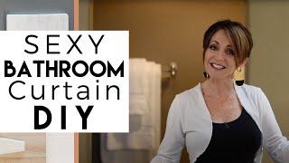 Sexy Bathtub Curtain | DIY | Interior Design Ideas
