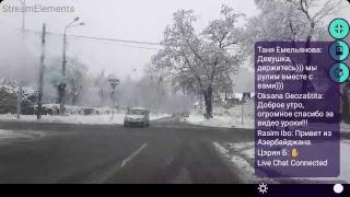 Урок Вождения Онлайн Мокрый Снег