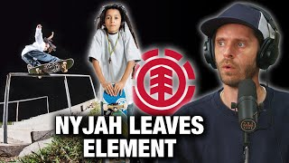 Nyjah Huston Leaves Element Skateboards. Who's He Going To Skate For?