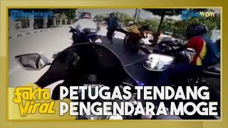 Viral Video Petugas Tendang Pengendara Moge di Kawasan Ring 1 Istana, Paspampres Beri Penjelasan