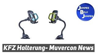 Muvercon News #002 KFZ Universal Premium Halterung LFQ - Erster Eindruck