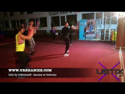 USTIX by Urbhanize® - Tonic Sol-fa - Ay Ay Ay It´s Christmas - DANCE FITNESS WITH DRUMSTICKS