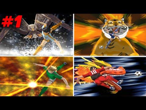 Semua Hyper di Game Captain Tsubasa PS2 #part1