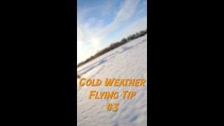 Cold Weather FPV Flying Tip 3 - #shorts