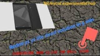 Redmi y1 y1 lite display light solution - hmong video