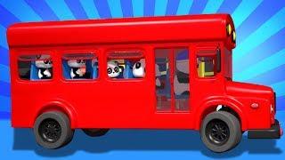 các bánh xe trên xe buýt   bài hát xe buýt cho trẻ em   vần điệu cho trẻ sơ sinh   Wheels On The Bus