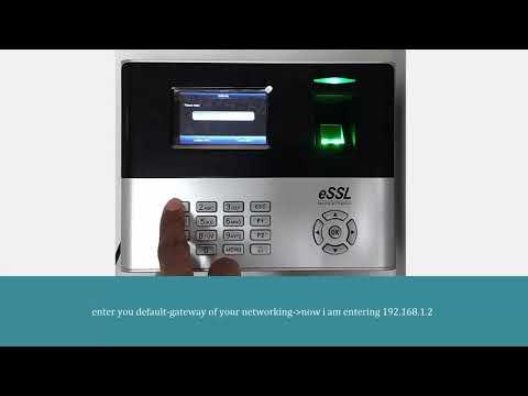 X990 eSSL Multi Media Fingerprint Attendance Device