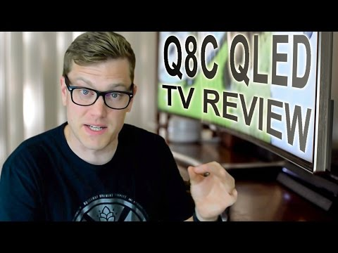 Samsung Q8C TV Review: A QLED Curve Ball