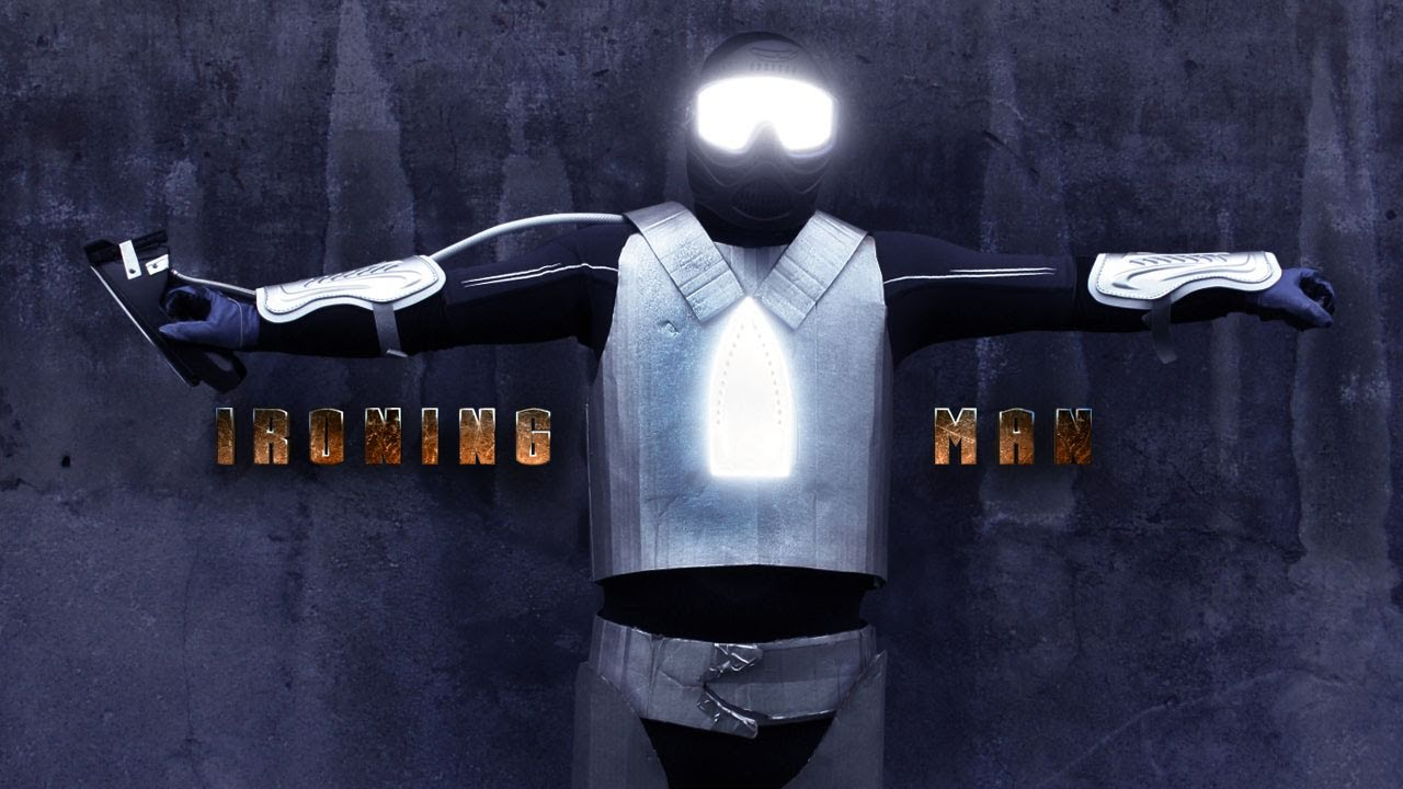 Ironing Man: The Movie I Really Want To See